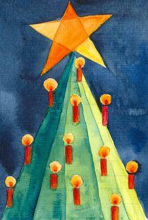 Weihnachtsbaum abstrakt by farbart