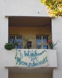 Habitation is human right - Wohnen ist Menschenrecht von Ralf Rosendahl