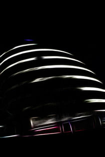London City Hall Abstract by Dan Davidson