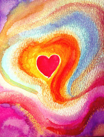 EMBRACED BY LOVE / VON LIEBE UMARMT  von Sandra Yegiazaryan