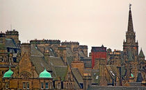 Roofs of Edinburgh by Leopold Brix