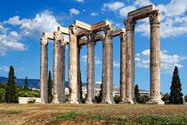 Olympieion, Greece by Constantinos Iliopoulos
