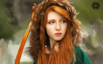 Ginger Red Head von Felipe  Mendoza