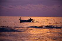 Sonnenuntergang im Indischen Ozean von Gina Koch