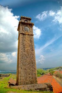 Turm im Fort in Galle von Gina Koch