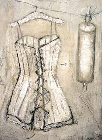 Corsage mit Nudelholz von Christine Lamade