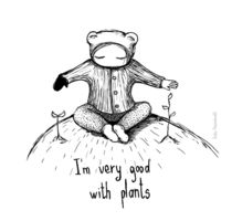 I'm very good with plants by Kate Hasselnott