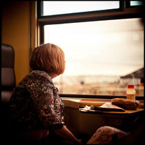 Travelling by Train is (not) always fun, Berlin von Viktoria Morgenstern