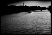 Bridge of Love, Paris by Viktoria Morgenstern