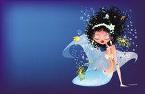 Blue Mermaid by Stacey Renee Bowers