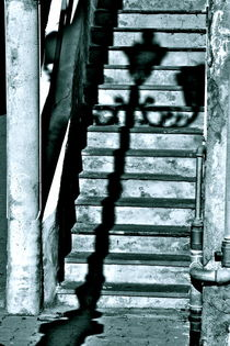 Shadow on the stairs by Benoît Charon