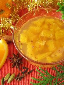 Orangenmarmelade mit weihnachtlichen Gewürzen by Heike Rau