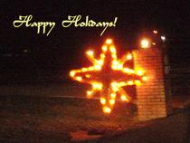 Happy Holidays Star by skyler