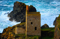 Engine houses at Botallack, Cornwall.  von Louise Heusinkveld