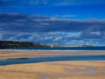Hayle Estuary, Cornwall by Louise Heusinkveld
