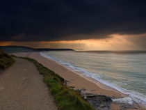 Loe Bar, Cornwall by Louise Heusinkveld