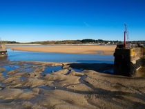 The River Camel Estuary at Low Tide by Louise Heusinkveld