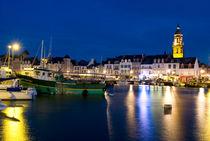 Port des Le Croisic à l'heure bleue by Ralf Rosendahl