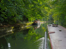 Grand Union Canal in Berkhampsted von Louise Heusinkveld