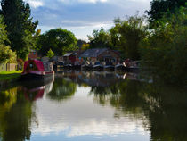 Grand Union Canal at Blisworth by Louise Heusinkveld