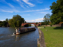 Docking on the Thames in Maidenhead von Louise Heusinkveld