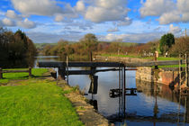 Derelict Lock Gates, Ulverston Canal by Louise Heusinkveld