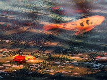 Lonely Koi Pond by Robert Ball