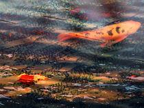 Lonely Koi Pond von Robert Ball