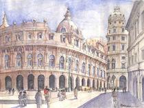 'Piazza de Ferrari (Genova, Italy)' von Luca  Massone