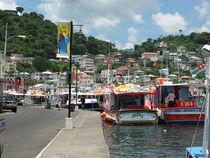 Grenada Harbour von Peter Robinson