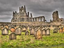 Whitby Abbey by Allan Briggs