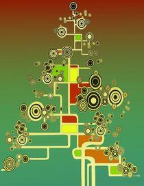XMAS TREE I by Kasparian Tamar