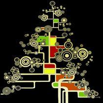 XMAS TREE II square  by Kasparian Tamar