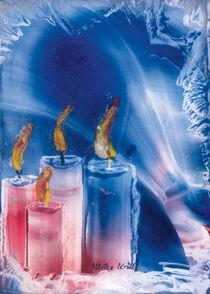Vorweihnachtlich in Blau  by Ulrike Kröll