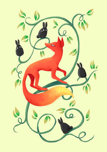 Bunnies and a Fox von freeminds