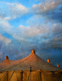 Tents At Dusk von florin