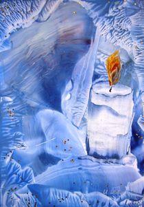 Vorweihnachtlich in Blau II von Ulrike Kröll