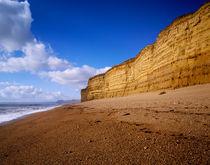 Cliffs at Burton Beach by Craig Joiner