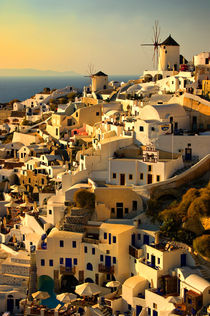 early evening in Oia by meirion matthias