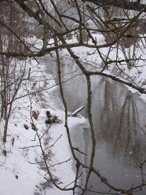 Flusslandschaft in der Wetterau von Ka Wegner
