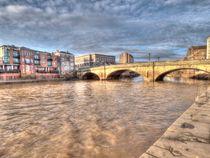 Ouse Bridge York by Allan Briggs