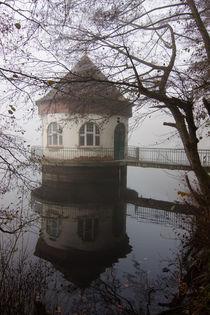 Pumpenhaus im Nebel von Thomas Schulz