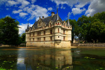 Azay-le-Rideau, Loire Valley, France by Louise Heusinkveld