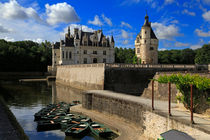 Chateau Chenonceau, Loire Valley, France by Louise Heusinkveld