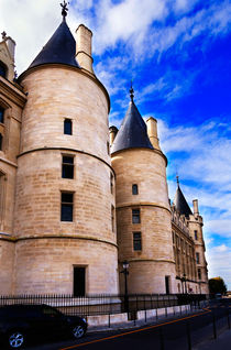 Towers of the Conciergerie, Paris by Louise Heusinkveld