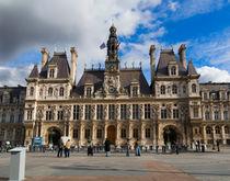 Hotel de Ville, Paris by Louise Heusinkveld