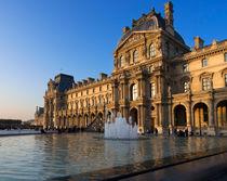 Louvre Pavilion de Richelieu by Louise Heusinkveld