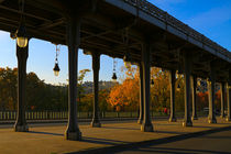 Bridge of Bir Hakeim in Paris by Louise Heusinkveld