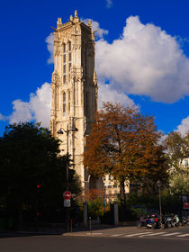 Tour St Jacques, Paris von Louise Heusinkveld