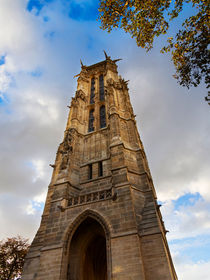 Tour St Jacques in Autumn, Paris von Louise Heusinkveld
